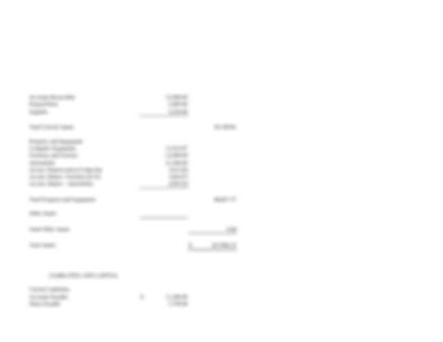 Susan Moss_Adjusted Trial Balance and Financial Statements