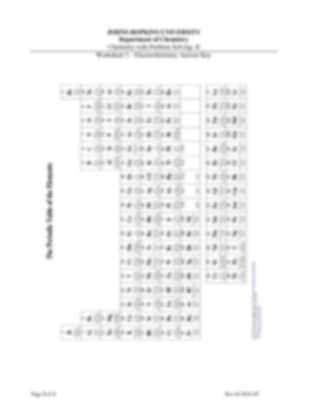 Chemistry with problem solving worksheet 3 Answer Key