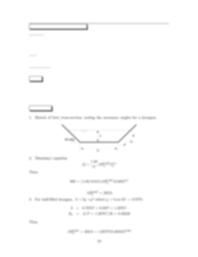 Use Darcy Weisbach equation to solve for Q 2 Alternate