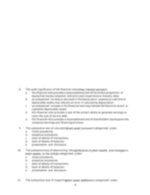 e presentation or disclosure assertion 3 The specific