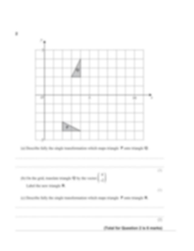 3 c Find as a column vector OE The diagonals of the