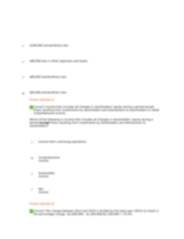 ACC291 Week 4, Chapter 13 Orion Proficiency report