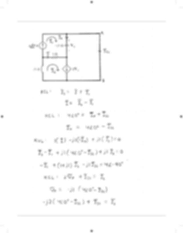 Chapter 8 AC Circuit Analysis Techniques Problem 8101