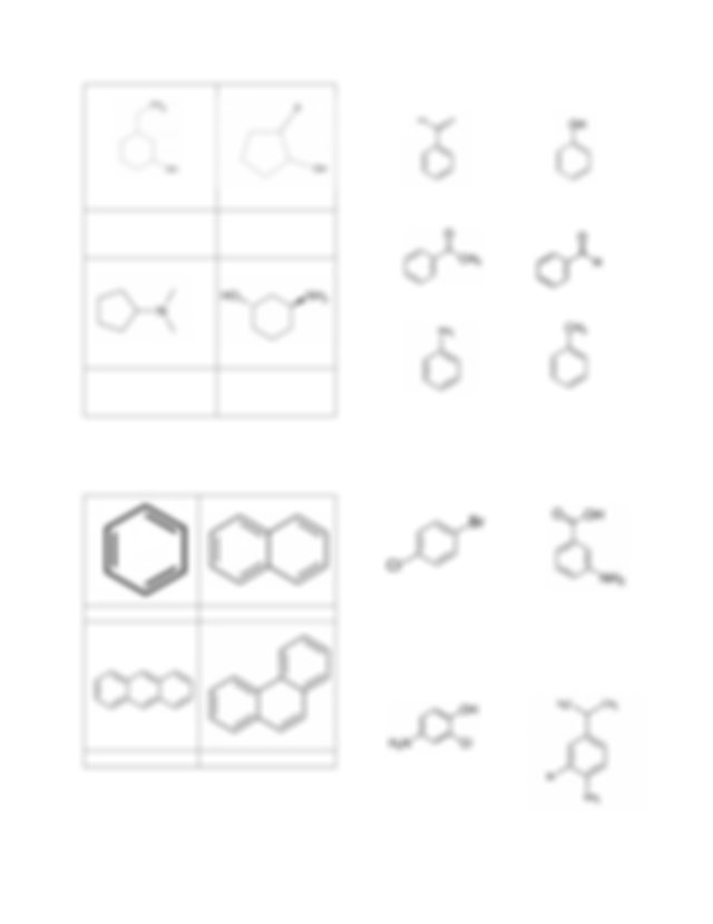 Example Nomenclature of Organic Compounds with more than