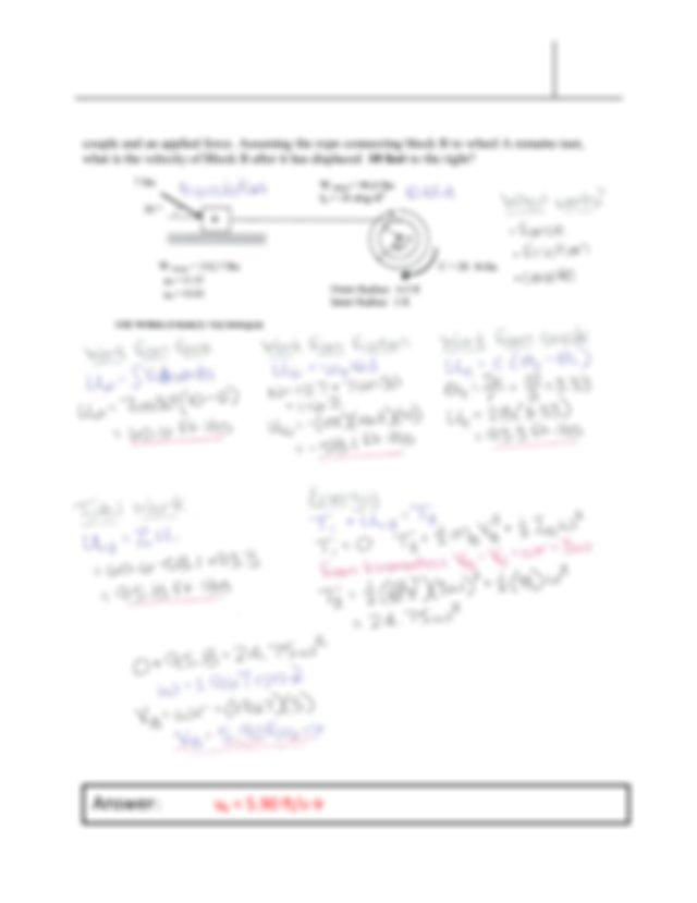 Answer a B 113 ins 2 and α AB 18 rads 2 CW 5 EGM 3420C