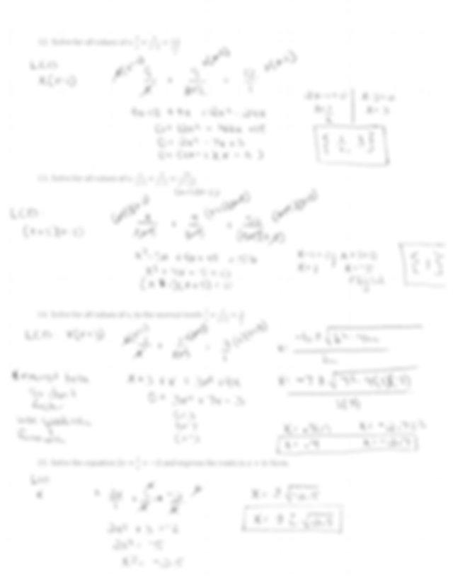 Unit 7 Trigonometry Test Answers / Unit 5 Trigonometry
