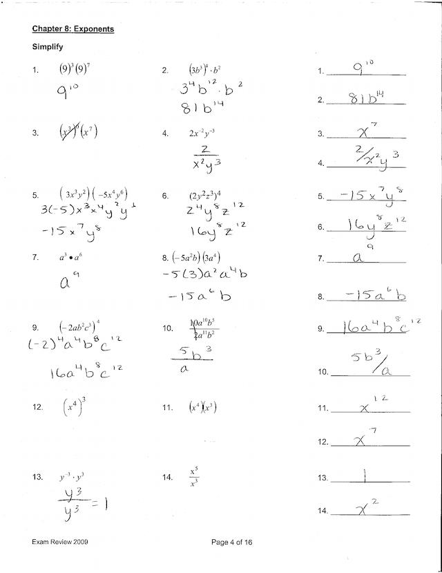 Geometry Fall Semester Exam Review Answer Key → Waltery