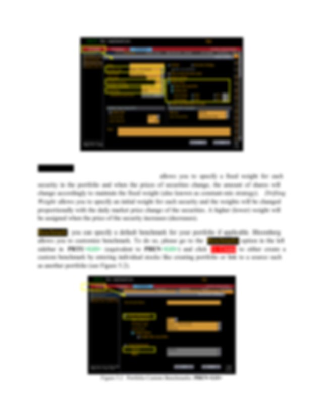Bloomberg User Manual Chapter Five - Bloomberg User Manual School of Economics and Finance Faculty of Business and Economics University of Hong ...