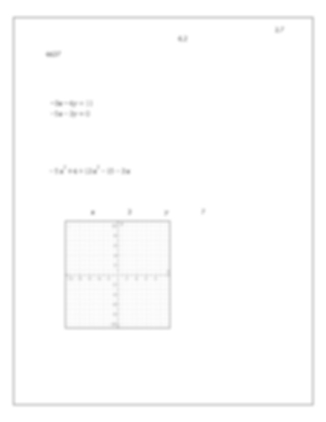 For each system of linear equations shown below classify