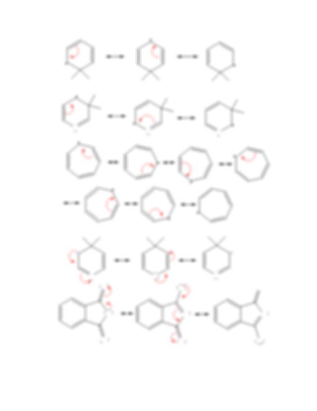 Organic Chemistry I Resonance Problem Set Answer Key
