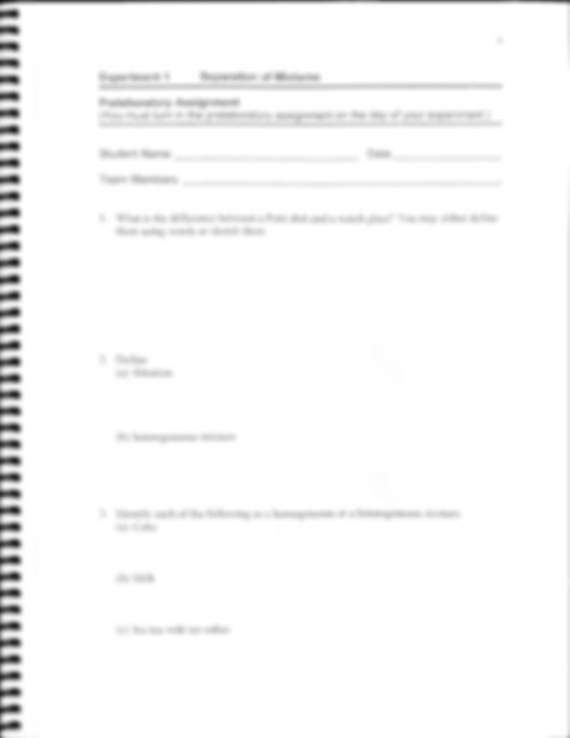 Chem 111 Experiment 1 Separation of Mixtures.pdf