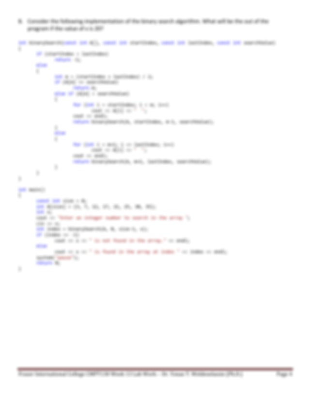 Write a recursive void function that has one parameter which is a positive   Course Hero