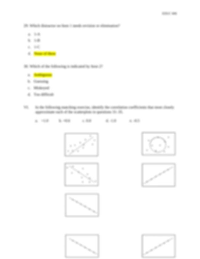 B 32 C 33 E 34 A 35 D Page 4 of 8 EDUC 606 36 The majority