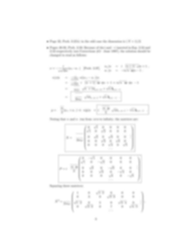 Griffiths D.J.-Errata for Solutions Manual for