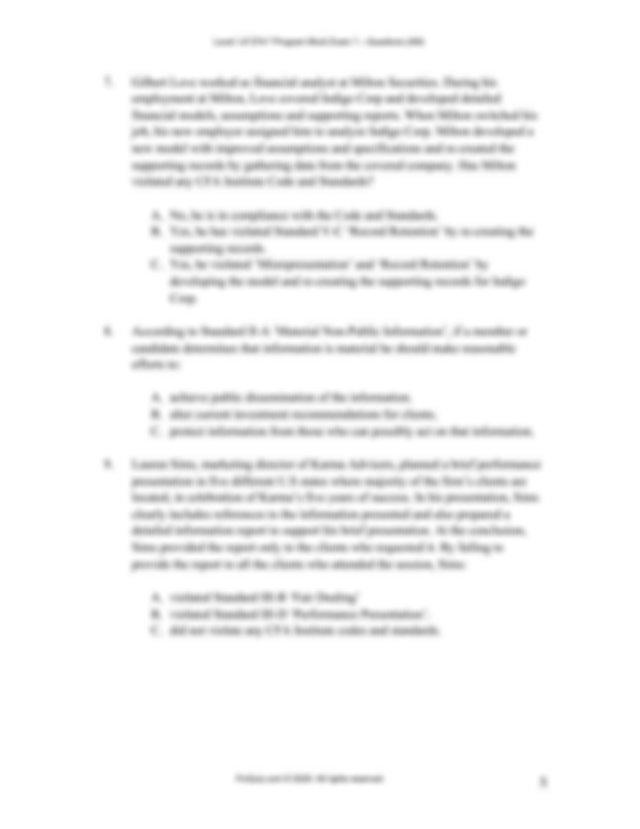 CFA-Level-1-Mock-Exam-2020-Dec AM.pdf - FinQuiz.com Level ...