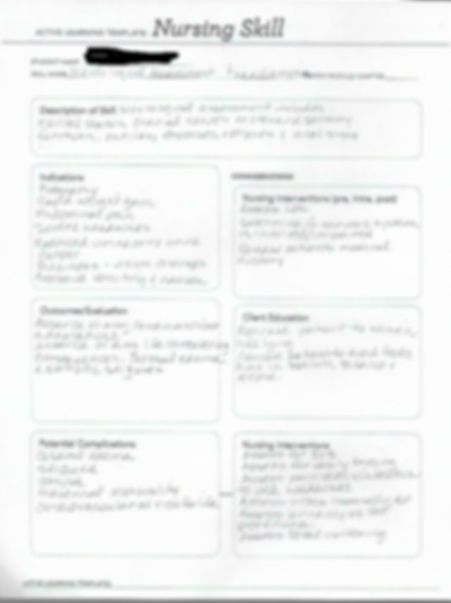 ATI skill nursing template neurological assessment .pdf