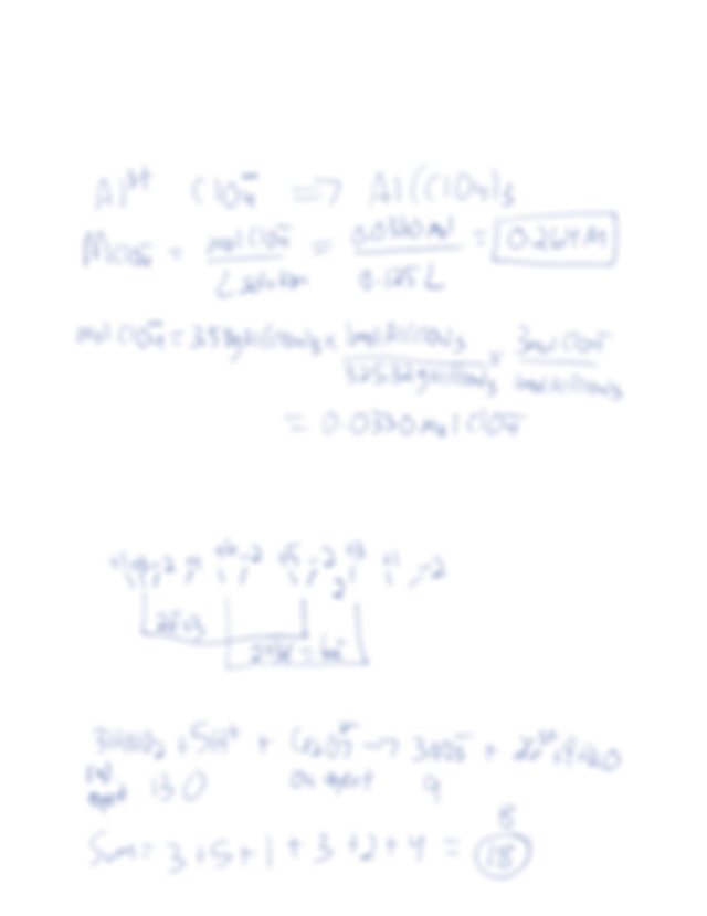 22 What is the net ionic equation when solutions of sodium