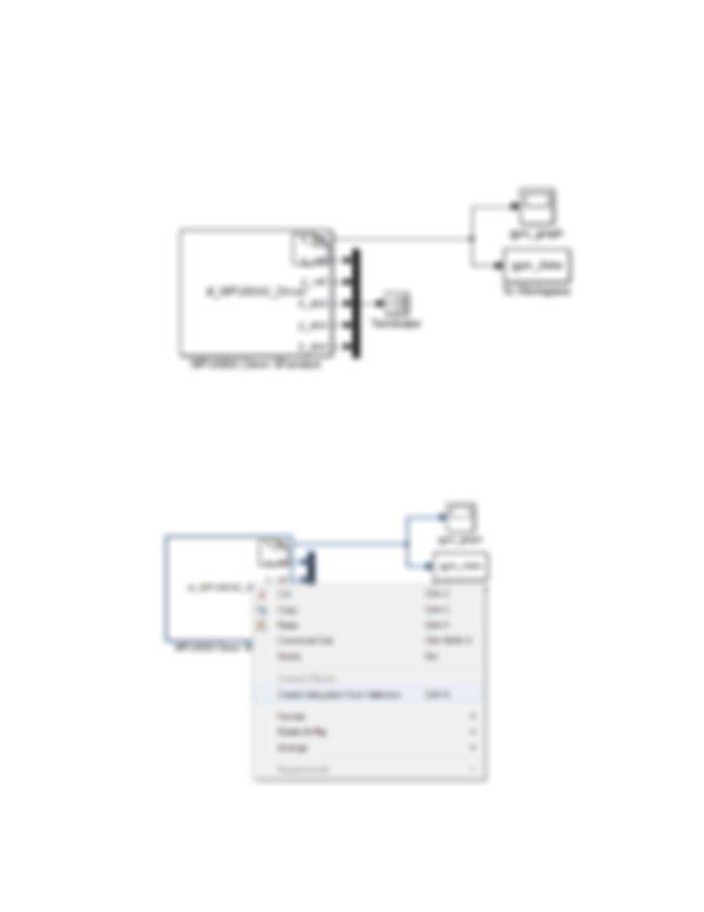 SimulinkModel Install RASPlib drag the MPU6050 block into