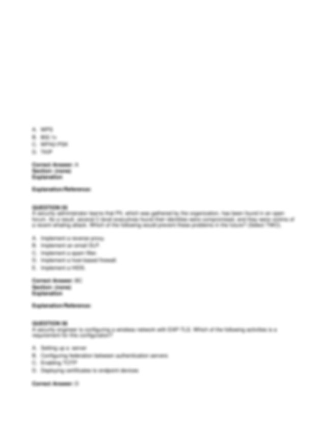 A Lessons learned review B Root cause analysis C Incident
