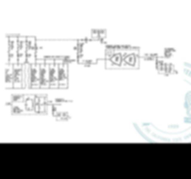 An electrical interlock between the emergency generator