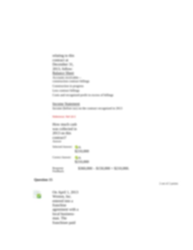 Correct Answer C 25000 Response Feedback 25000 unrealized