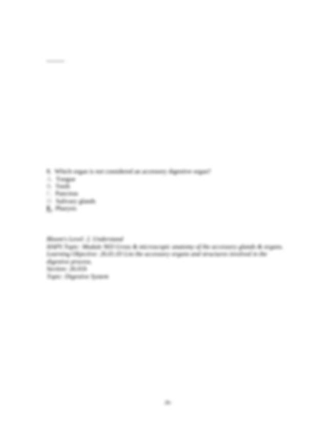 Chap026 - Chapter 26 Digestive System Chapter 26 Digestive ...
