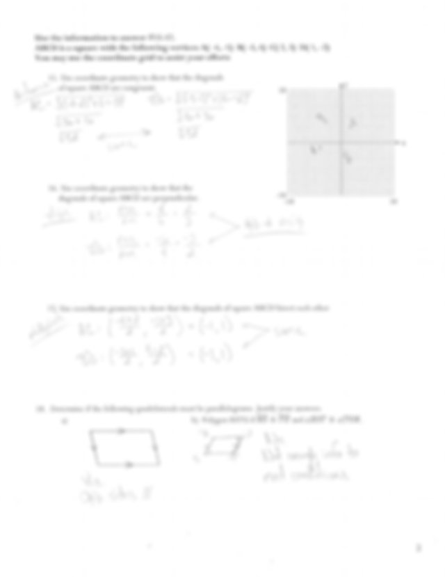Regular and irregular shapes worksheet with answers