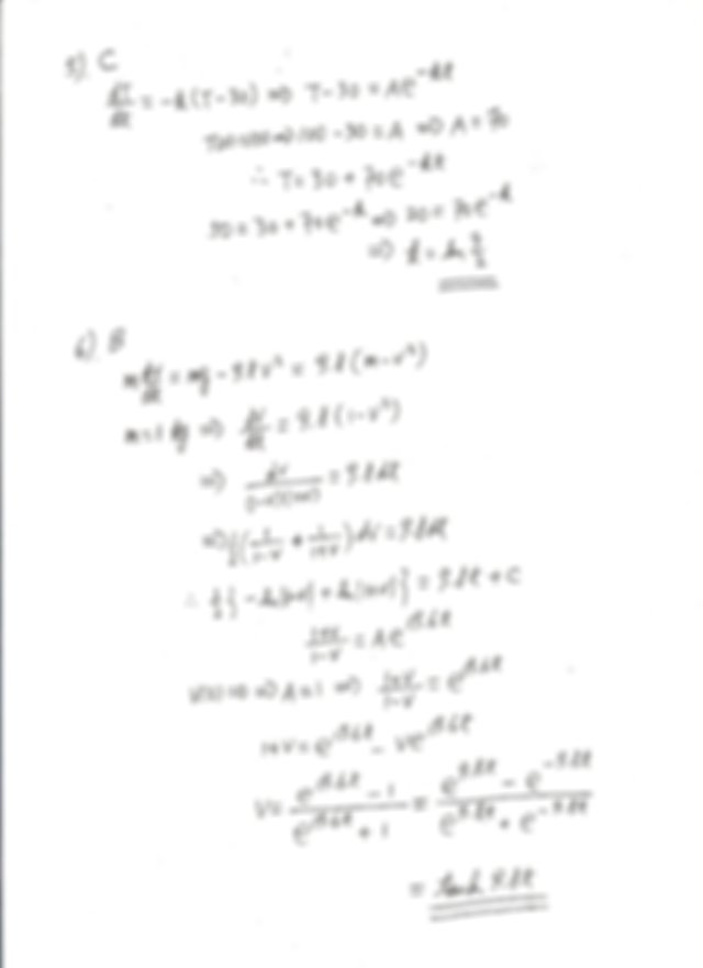 Let y be a solution of the differential equation y 00 y x
