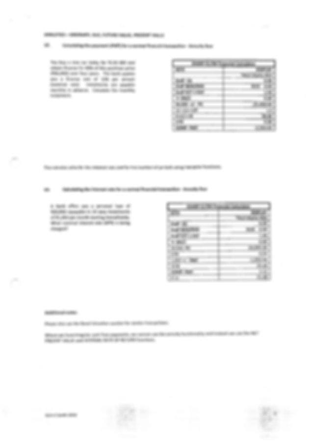 Financial Calculator HP10bII+ and Sharp EL 738 Manual