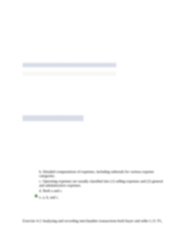 Accounting Fundamentals Chapter 4 Homework and Quiz