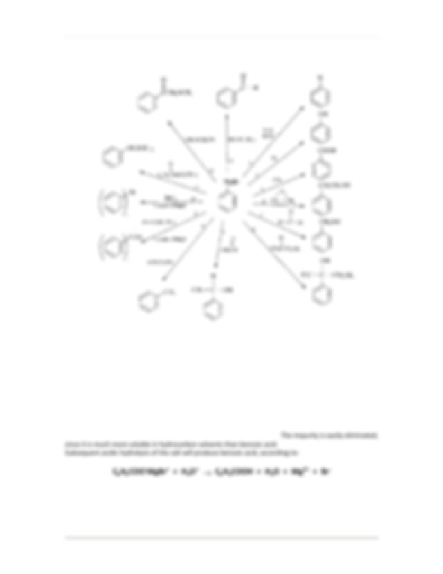 The Grignard Reaction Synthesis and Analysis of Benzoic