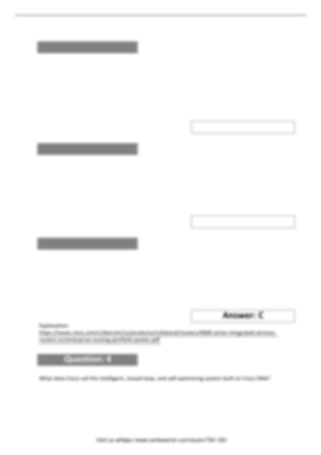 700-150 Features of CertsWarrior Exam Dumps 2019.pdf