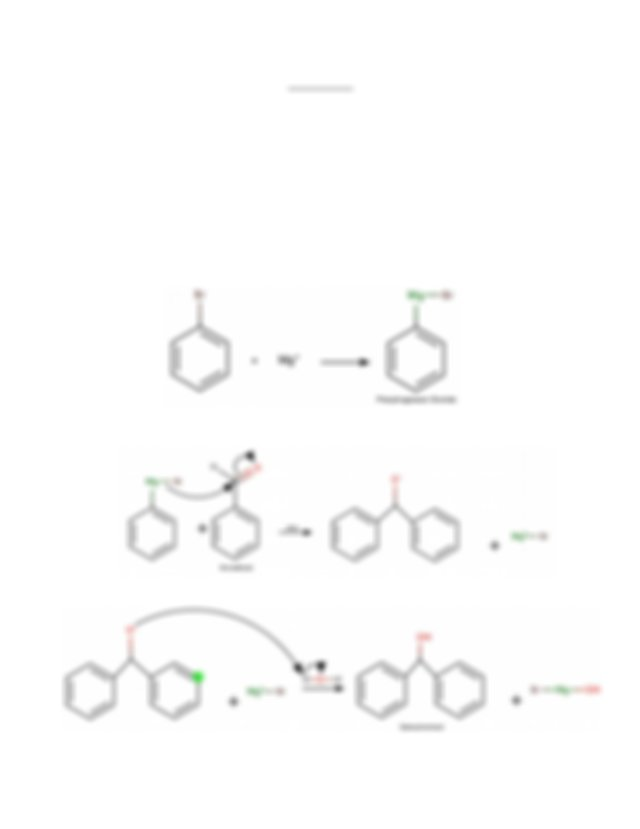 Experiment 5 The Gridgnard Reaction Formal Report