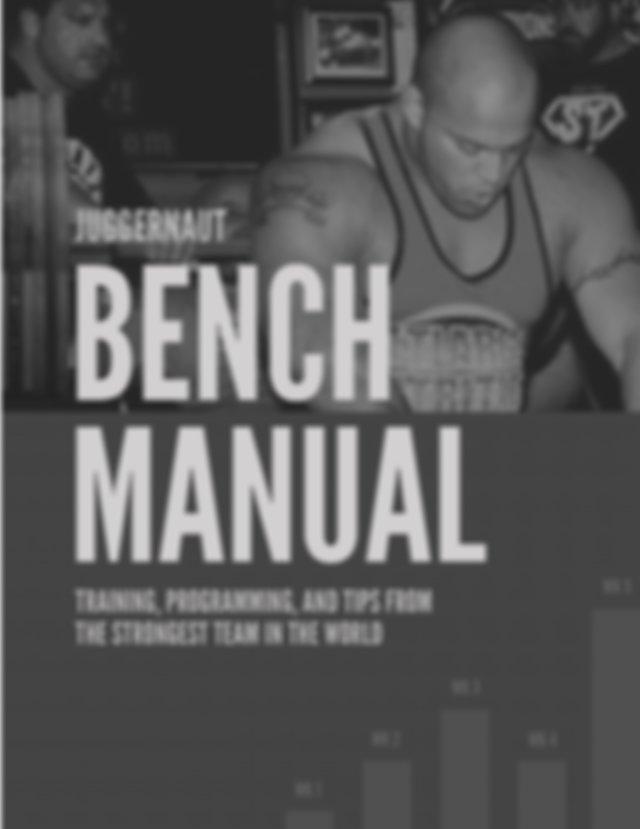 Download Juggernaut Bench Manual