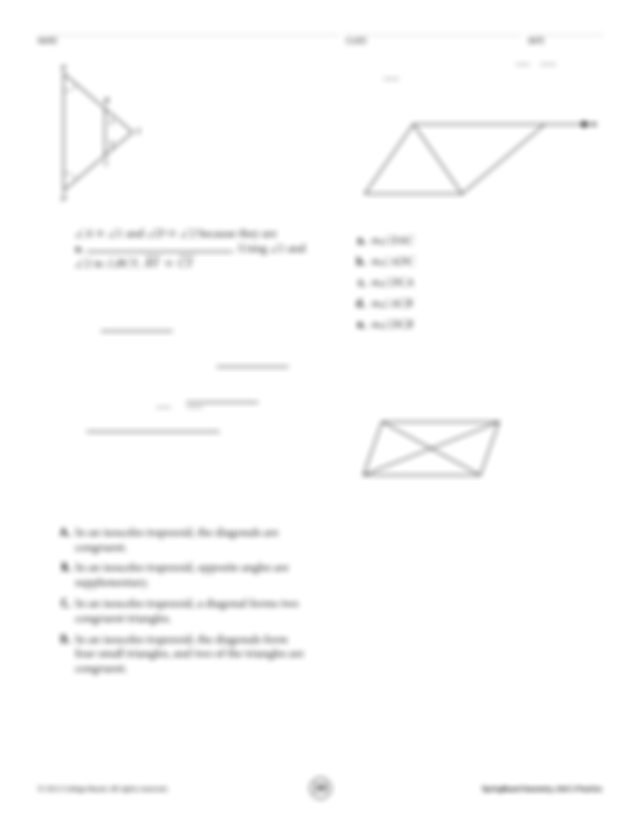 because if two angles in a triangle are congruent then the