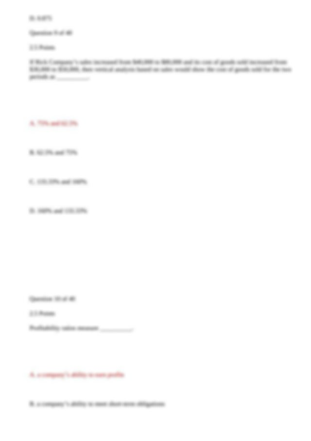 Principles of Accounting II Lesson 7 Answers.docx.html