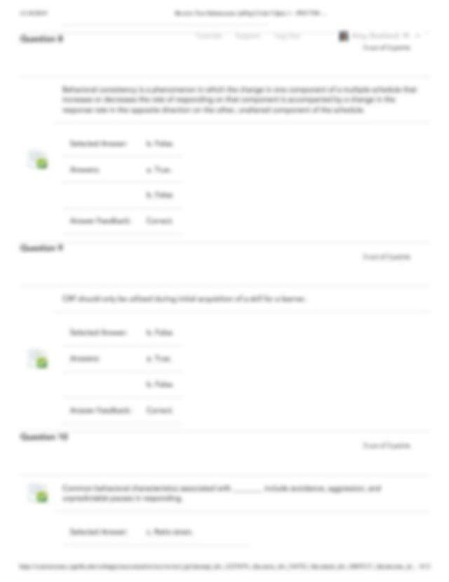 Review Test Submission: [u05q1] Unit 5 Quiz 1 \u2013