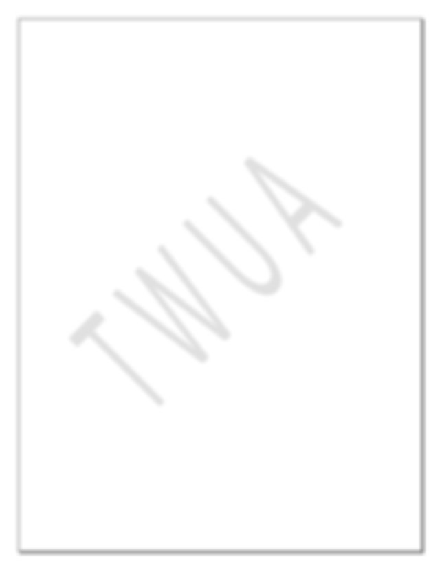 Test Questions Made Possible By TWUA Answer Key Available
