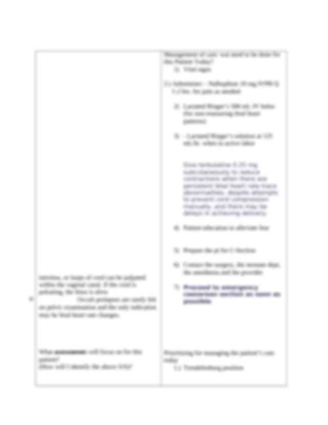 Clinical Worksheet 2cx