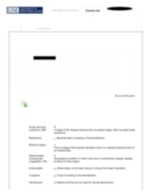 Review Test Submission- BIOL 1020- Unit 4 Module 14