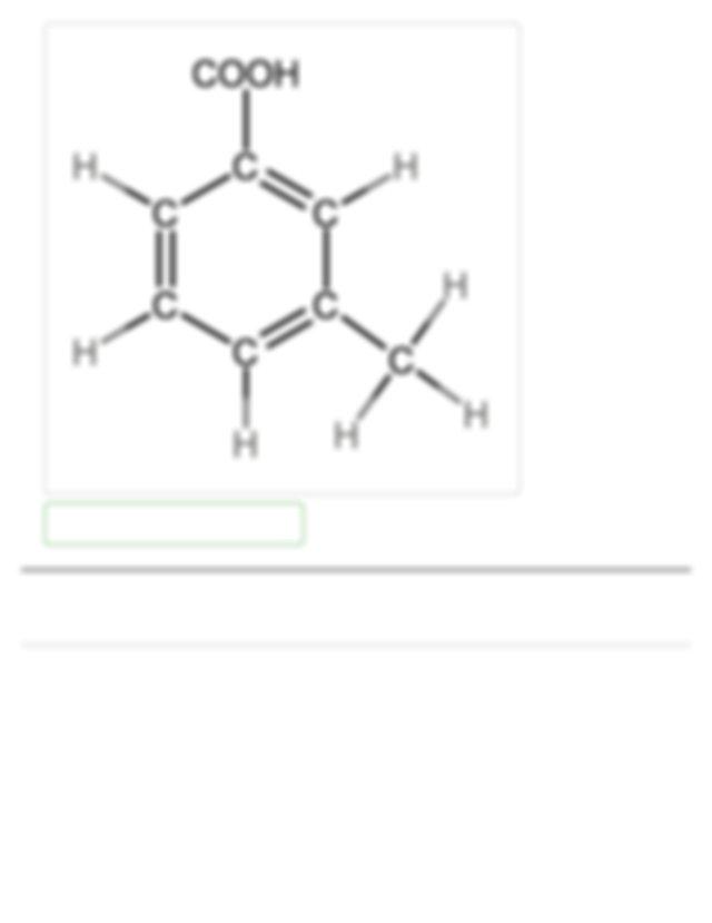 hexane OHANSWER Correct Part B Draw 3 methylbenzoic acid