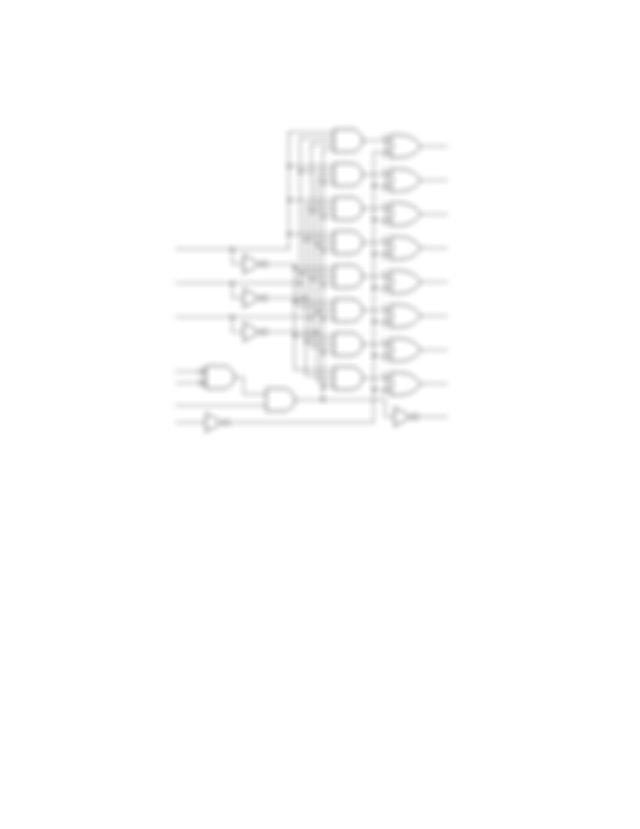 551 Draw the logic diagram for a 16 to 4 encoder using