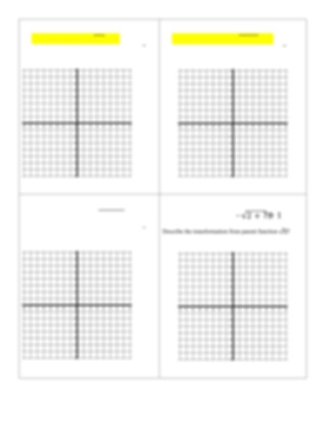 A Quadratic and Its Inverse 1 Graph 2 1 0 1 2 Domain Range