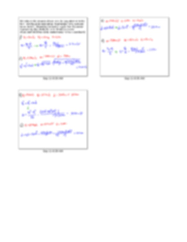Acceleration Worksheet 1 Answers