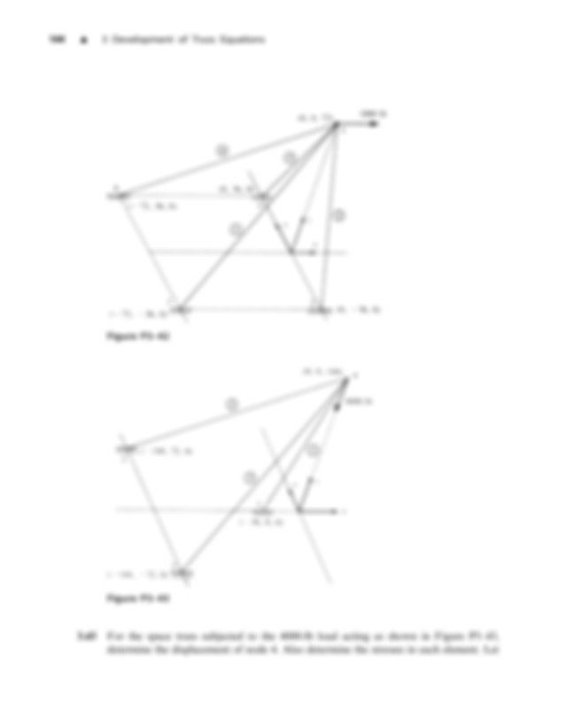 329330 For the plane trusses shown in Figures P329 and