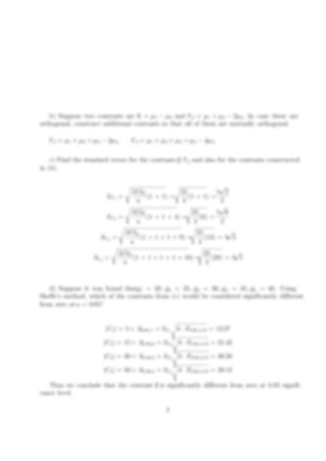 final exam sample 1 for Design of Engineering Experiments