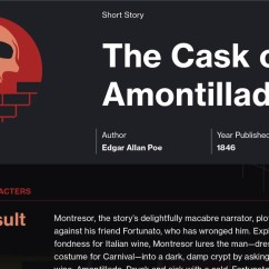 The Cask Of Amontillado Story Diagram Ford Ka Mk2 Wiring Plot Summary Course Hero