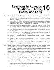 Neutralization Reactions Worksheet Key 1