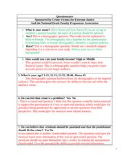 Research Questions Worksheet And Answers