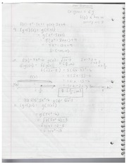 MAC1105 Chapter 1 Notes